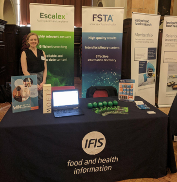 Rhianna at IFST Spring Conference | IFIS Publishing
