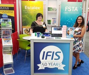 Angela and Shira at SLA 2018 | IFIS Publishing