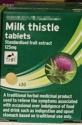 Milk thistle tablets | IFIS Publishing