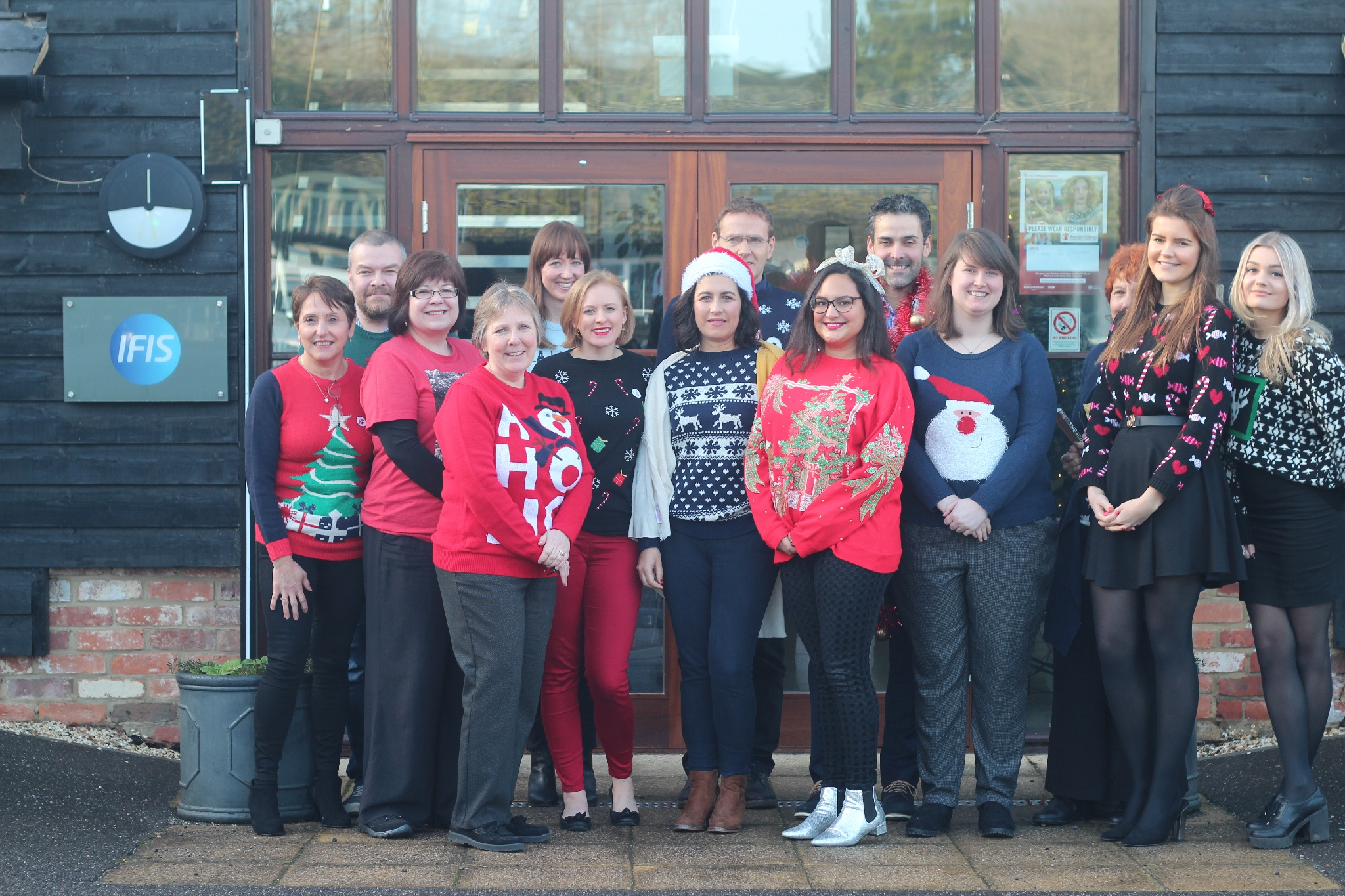 Christmas Jumper Day 2018 | IFIS Publishing